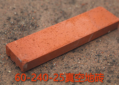 60-240-25红色真空劈开砖